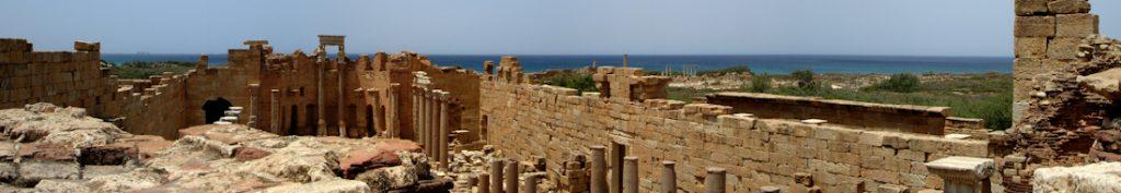 Leptis Magna + Sea - Libya