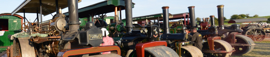 Steam Rollers and Working Tractors