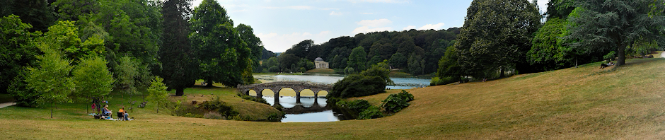 Stourhead in Summer